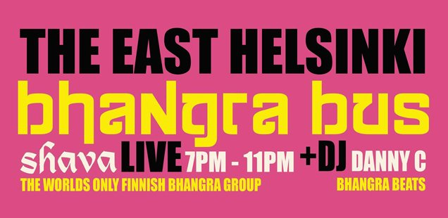 East Helsinki Bhangra Bus | Unusual Things To Do in London, 30 March - 5 April