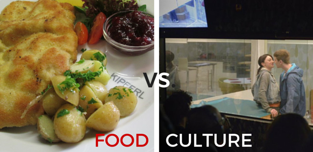Food vs Culture - Kipferl vs Game at Almeida Theatre