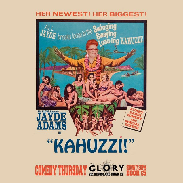 Kahuzzi! | Unusual Things To Do in London, 2-8 March 2015