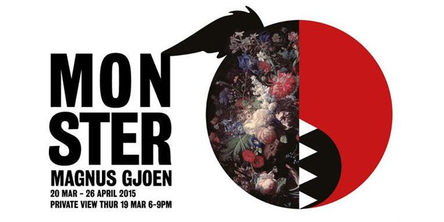 Magnus Gjoen: Monster | Unusual Things To Do in London, 16-22 March 2015