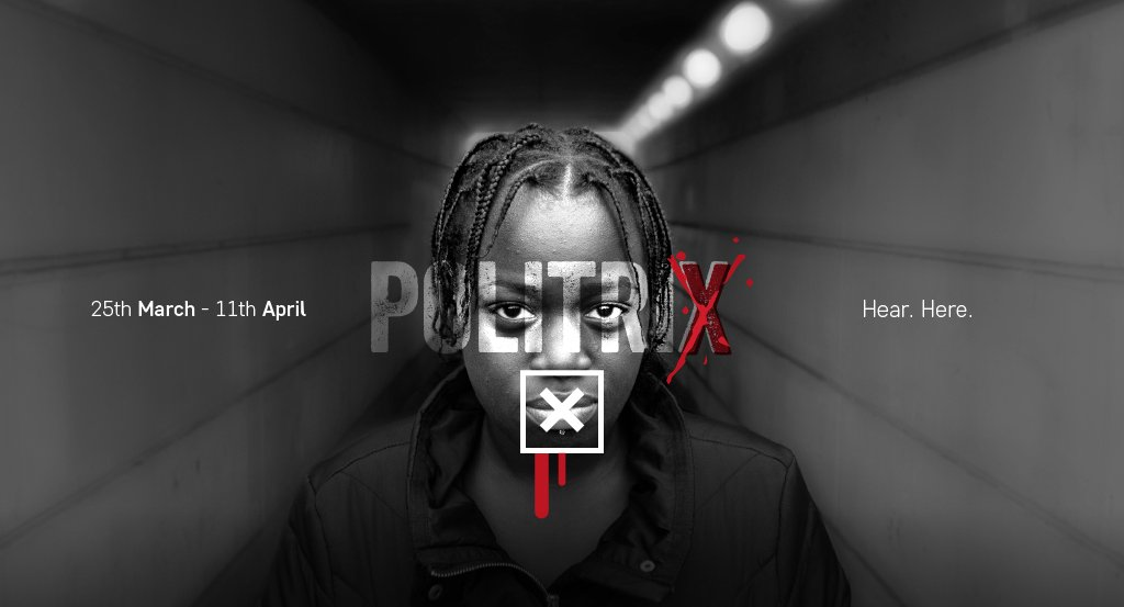 Politrix at Hackney Showroom, 25 March - 11 April