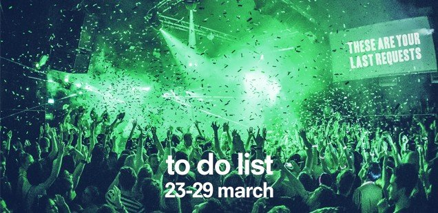 Unusual Things To Do in London, 23-29 March 2015