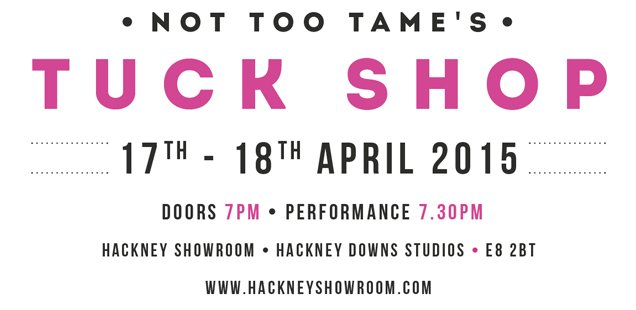 Tuck Shop | Unusual Things To Do in London, 13-19 April