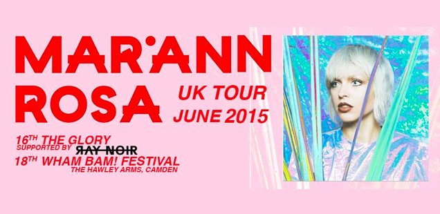 Mariann Rosa | Unusual Things To Do in London, 15-21 June