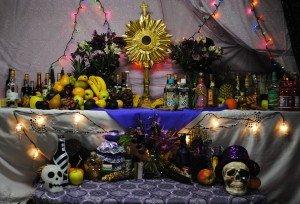 Haitian Voudou Altar, Wikipedia