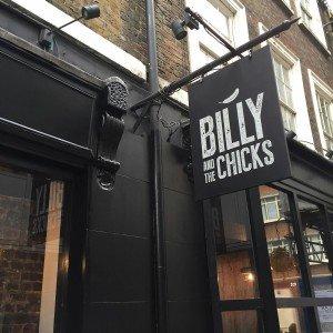 Billy and the Chicks, St Anne's Court, Soho