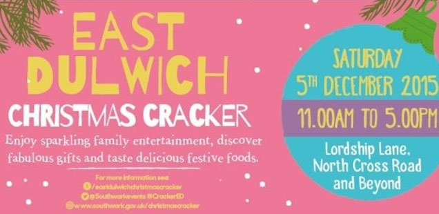 east dulwich christmas cracker