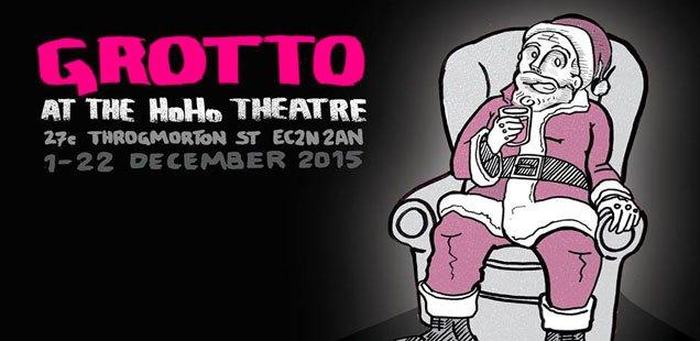 grotto at ho ho ho theatre
