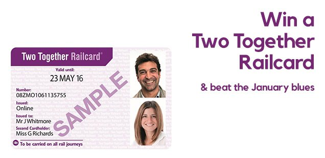 Win a Two Together railcard