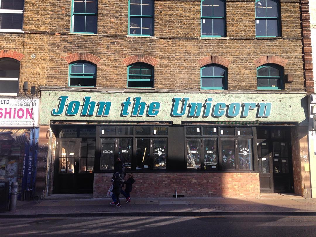 John The Unicorn Outside