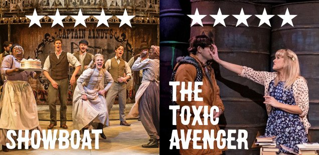 The Toxic Avenger & Showboat both get a legendary ★★★★★ from us