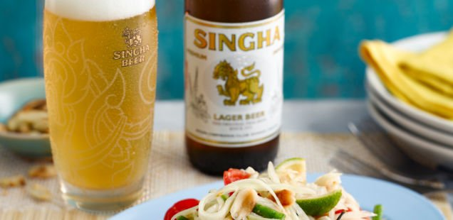 Singha Beer: Thai New Year