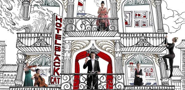 WIN TICKETS! Experience Hotel Black Cat at London Wonderground