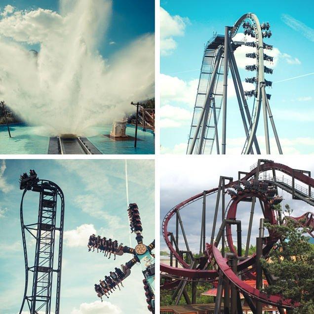 Thorpe Park Resort Rides