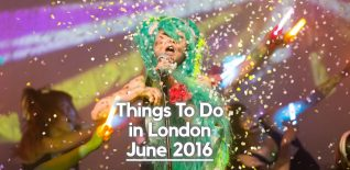 Curious Things To Do in London in June 2016