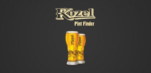 2 free Kozel Pints