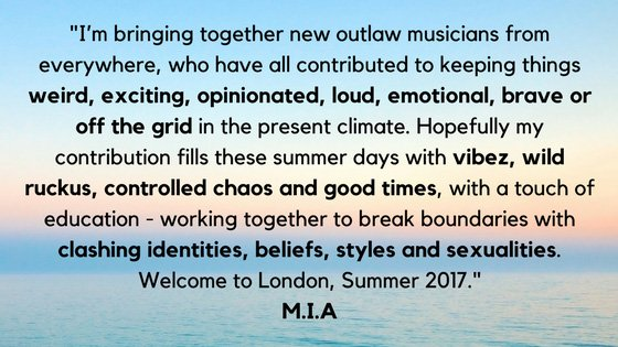 M.I.A.'s Meltdown Festival featuring Yung Lean, Mykki Blanco and many more 1