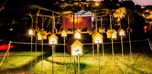 FOR THE BIRDS - INSPIRING WOODLAND ARTS ADVENTURE AT THE BRIGHTON FESTIVAL 1
