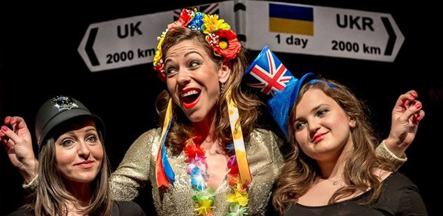 Interview: Molodyi Teatr London on their show 'Penetrating Europe, or Migrants Have Talent' 2