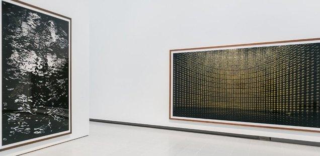 Installation view: Andreas Gursky, Hayward Gallery 2018 © Mark Blower