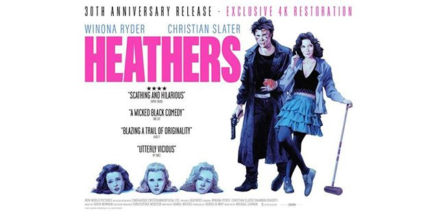 HOW VERY! The HEATHERS Phenomenon: Heathers the Musical + Movie Re-Release
