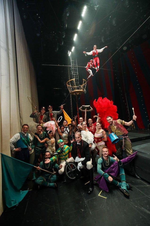 Circus 1903 Troupe