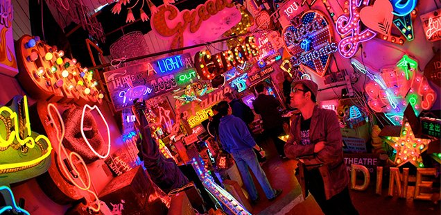 Lights of London: Get your NEON fix at our top 9 London luminaries 1