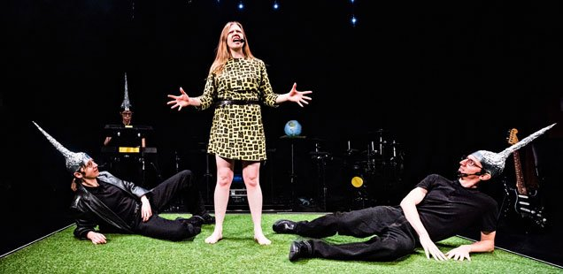 ★★★★★ The Future at Battersea Arts Centre