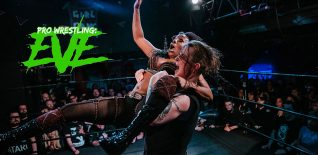 ★★★★★ EVE - Riot Grrrls of Wrestling at Resistance Gallery