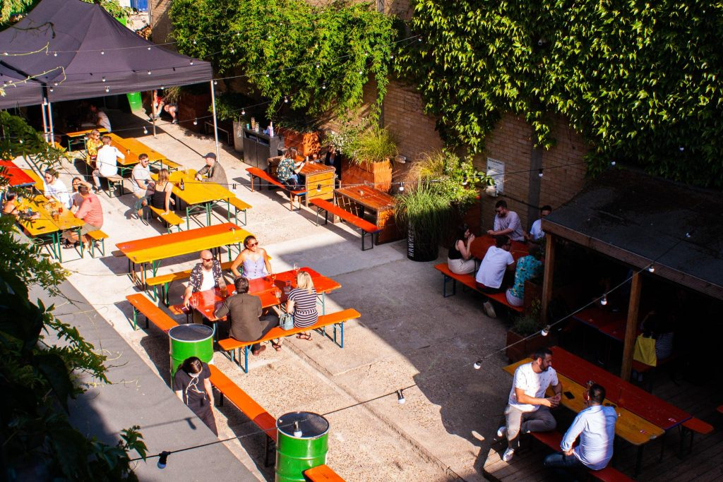36 Places to Drink Outside in London 33