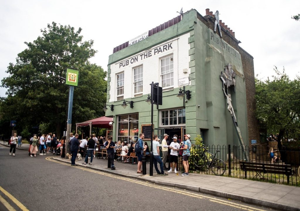 36 Places to Drink Outside in London 27