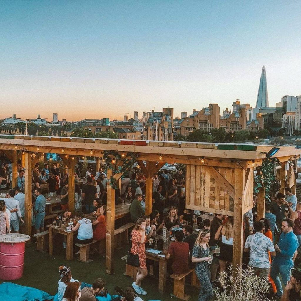 36 Places to Drink Outside in London 32