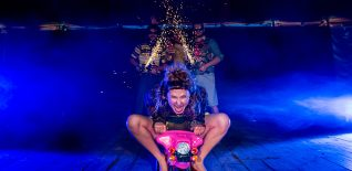 Interview: Luke Hallgarten from the Revel Puck Circus